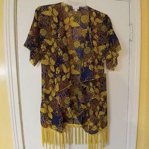 NWT LuLaRoe Monroe Kimono S
